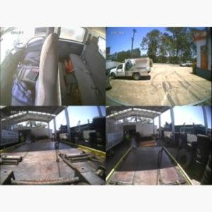 Analogue DVR vehicle camera system