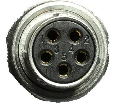 5 Pin Receptacles