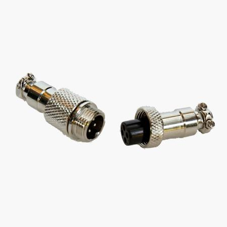 Cable mount plug & socket set