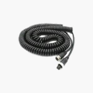 extension cable in a curly cable form with a total cable length of 8m