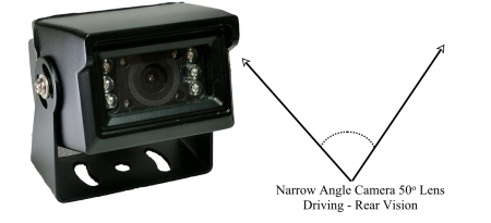 CH HPC1MB Hybrid vehicle camera 50 degree viewing