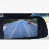 Clip-on mirror/monitor in SUV