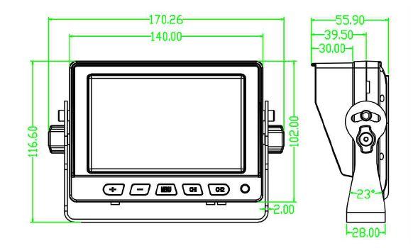 CH STDAHD5 Dimension Drawing