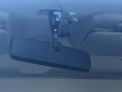 Windscreen mounted forward facing camera