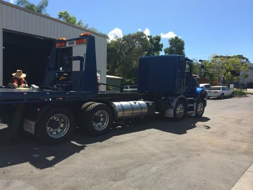 Ekebol custom tilt tray on Kenworth chassis