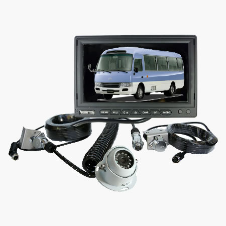 HCMKIT3 dash mounted rear view monitor reversing camera kit