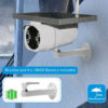 Solar powered video monitoring system, smart phone capable