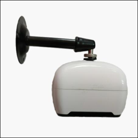 Mini security camera mounting
